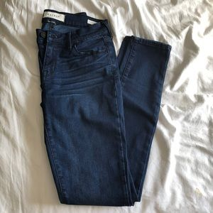dark washed denim jeans